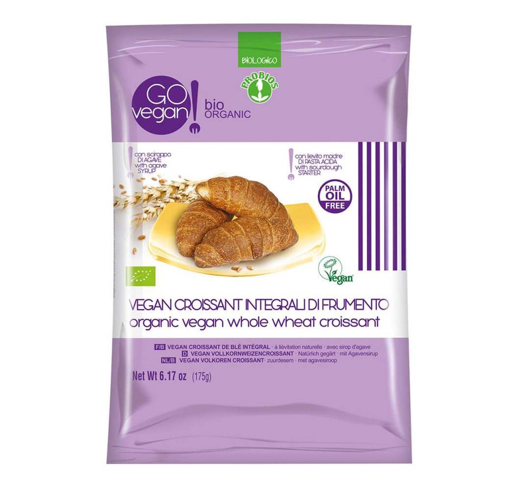 GOvegan GOVEGAN Organic Vegan Whole Wheat Croissants