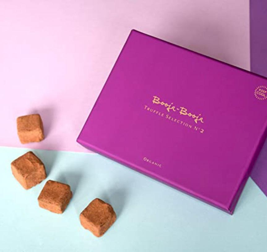 BOOJA-BOOJA BOOJA-BOOJA Vegan Organic Dark Chocolate Truffles