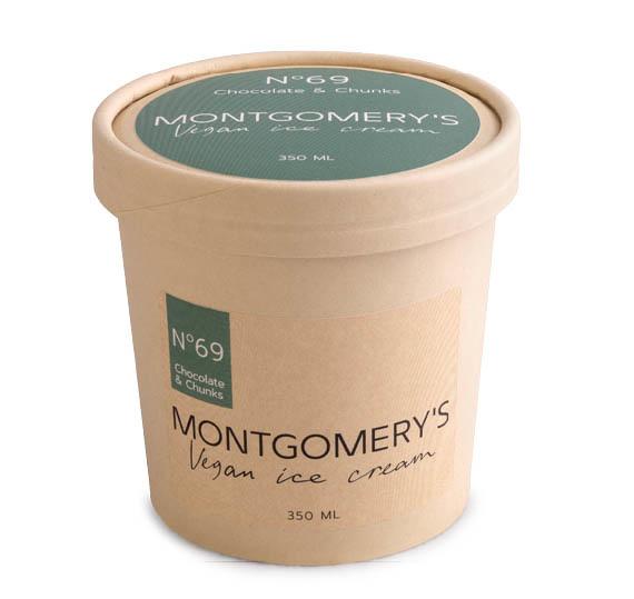 MONTGOMERY'S MONTGOMERY'S Vegan Ice Cream No 69 | Chocolate & Chunks (350 ml)
