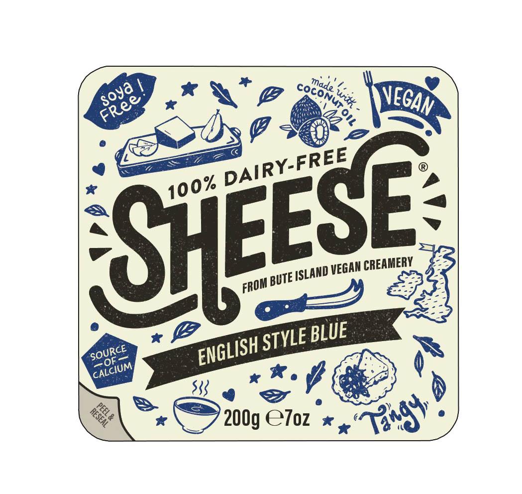 SHEESE SHEESE Blue English Style Block