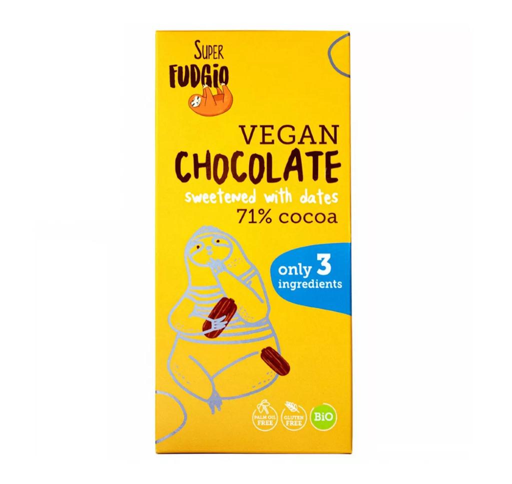 SUPER FUDGIO SUPER FUDGIO Chocolate sweetened with dates