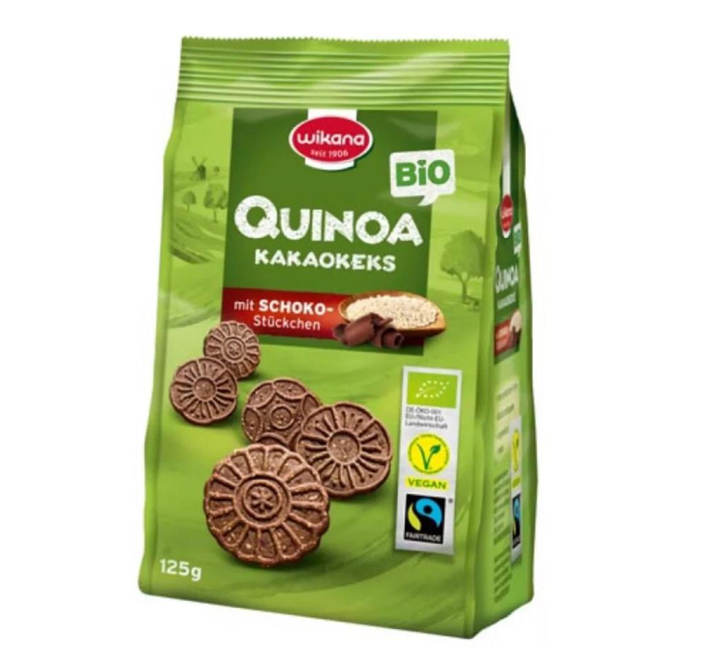 WIKANA Quinoa & Cocoa Biscuits