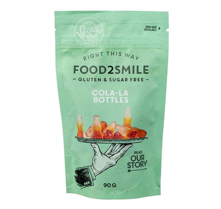 FOOD2SMILE FOOD2SMILE Cola-La Bottles