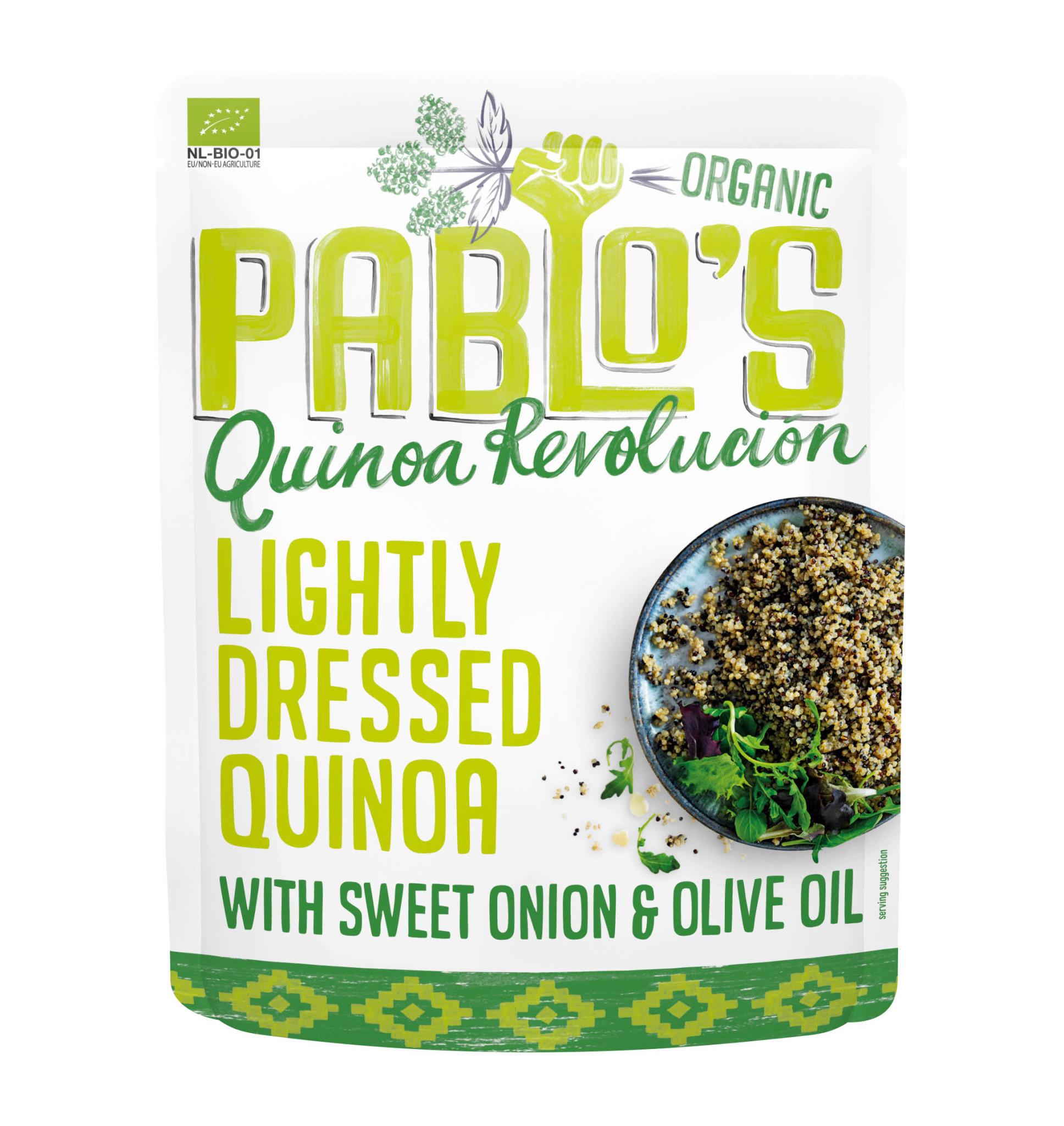 PABLO'S QUINOA PABLO'S QUINOA - Lightly Dressed Quinoa with Sweet Onion & Olive Oil