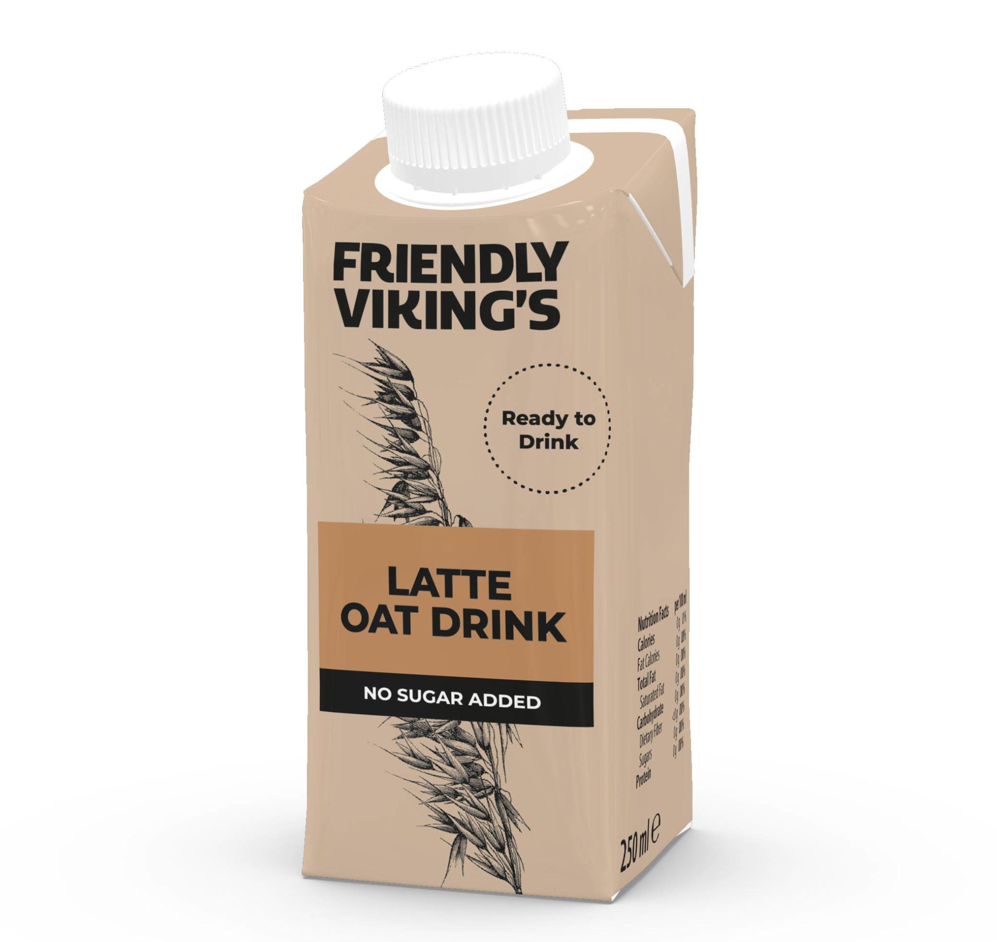 FRIENDLY VIKING'S FRIENDLY VIKING'S Oat Drink - Latte 250ml