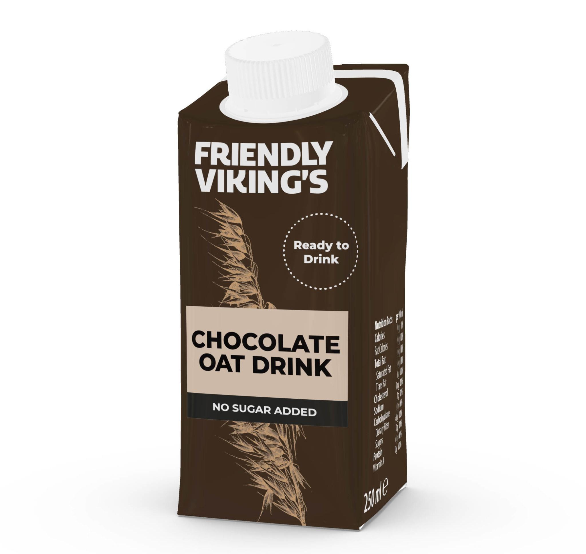FRIENDLY VIKING'S FRIENDLY VIKING'S Oat Drink - Chocolate