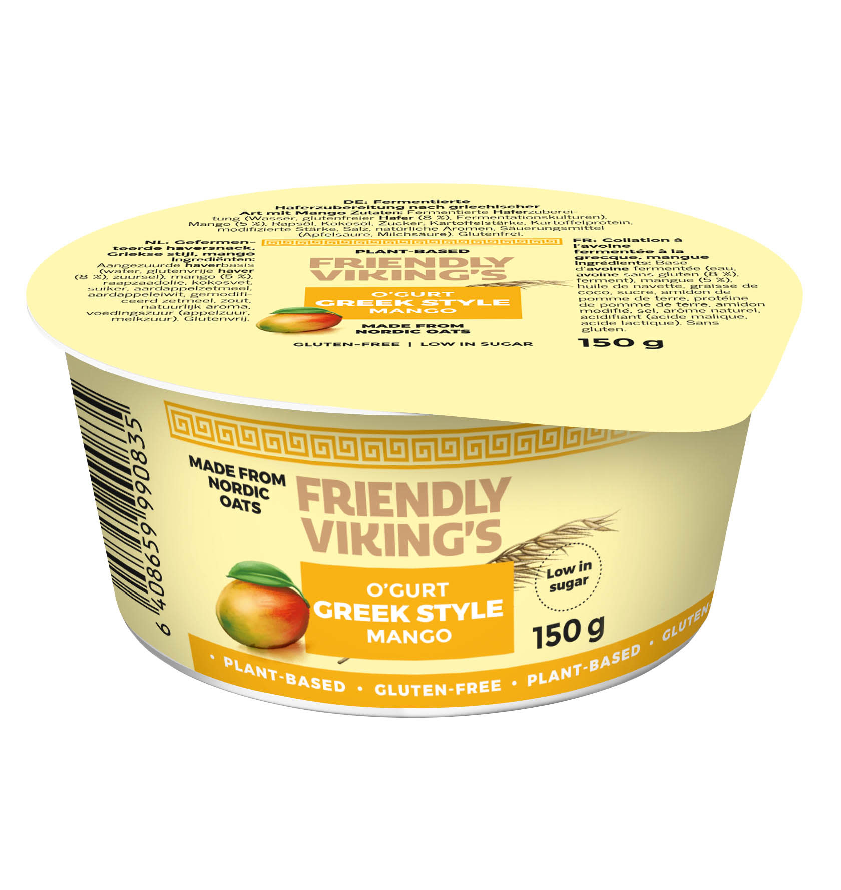 FRIENDLY VIKING'S FRIENDLY VIKING'S Greek Style Mango Yogert