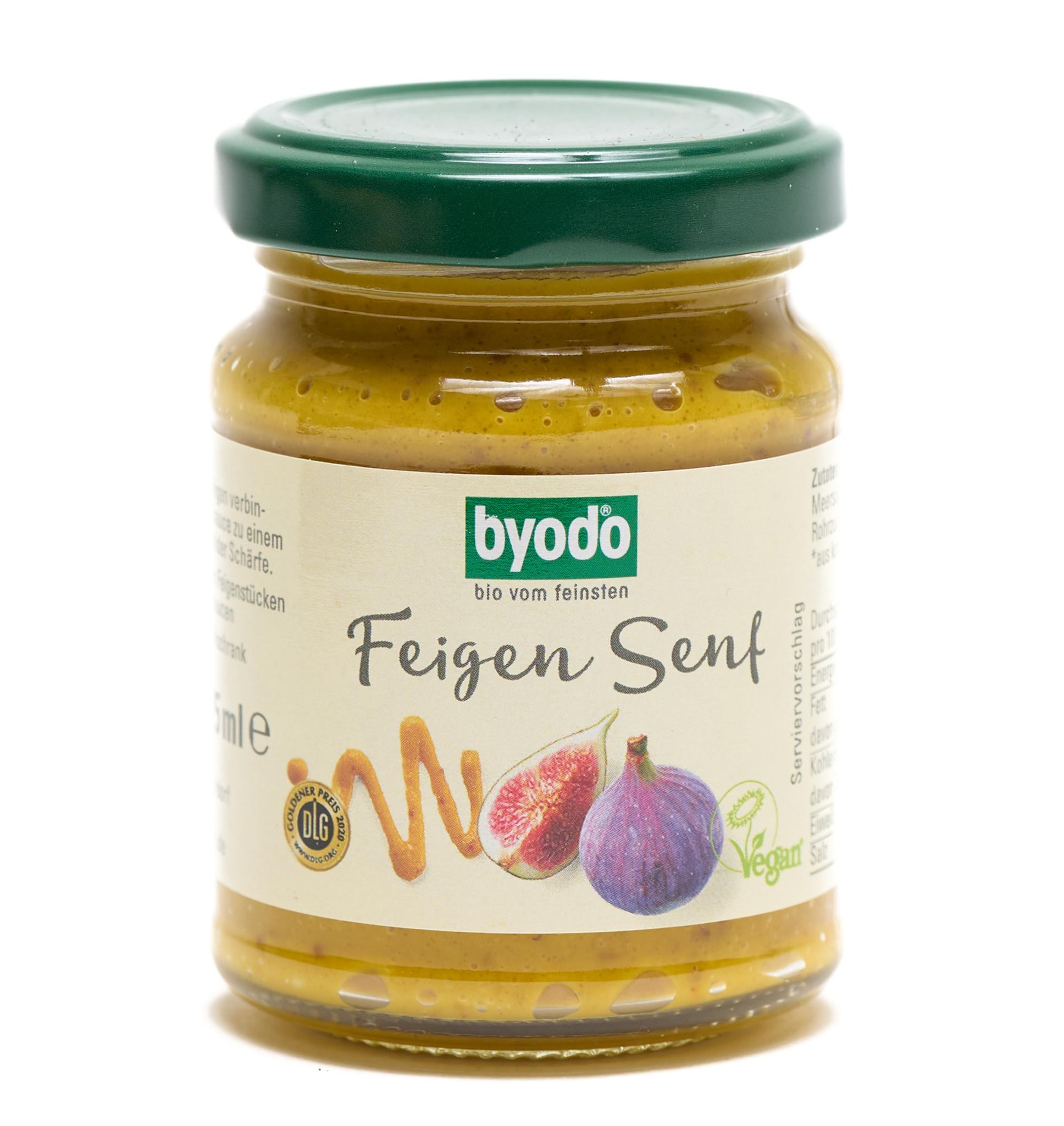 BYODO BYODO Organic Fruity Mustard with 20% figs & fine mustard note