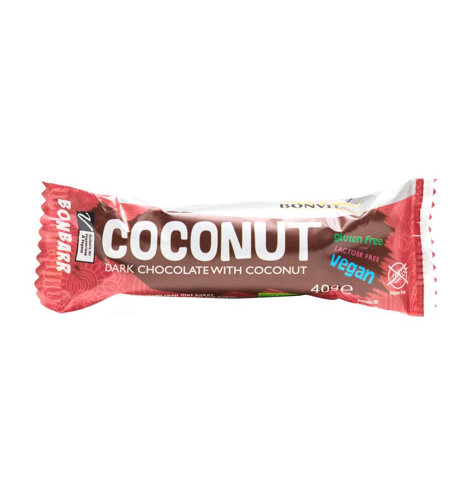 BONVITA BONVITA Bonbarr Pure Chocolade met Kokos