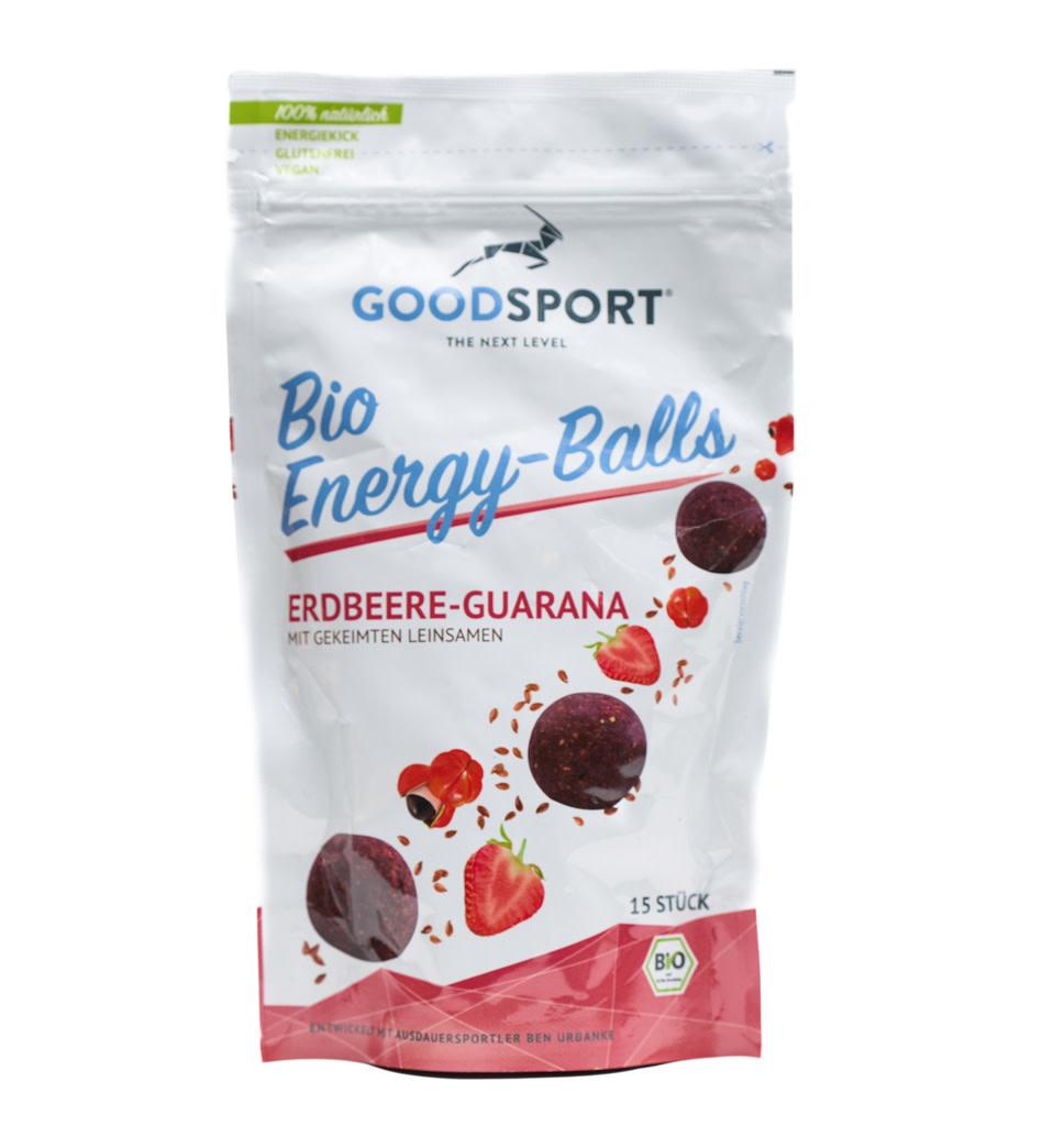 GOODSPORT GOODSPORT Bio Protein-Balls Strawberry Guarana