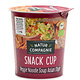 NATUR COMPAGNIE NATUR COMPAGNIE Snack Cup Veggie Noodle Soup Asian Style