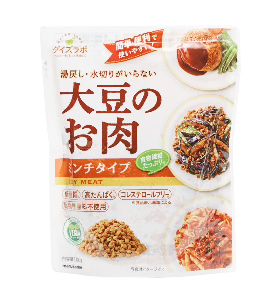 MARUKOME Soybean Meat Minced