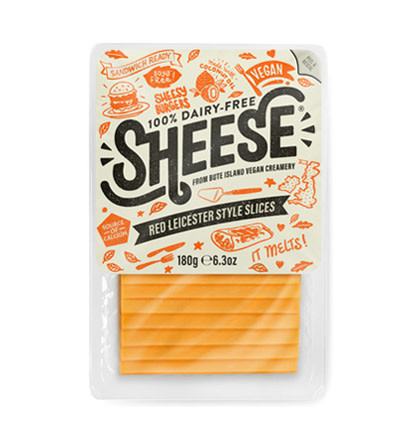 SHEESE SHEESE Sliced Red Leicester Style