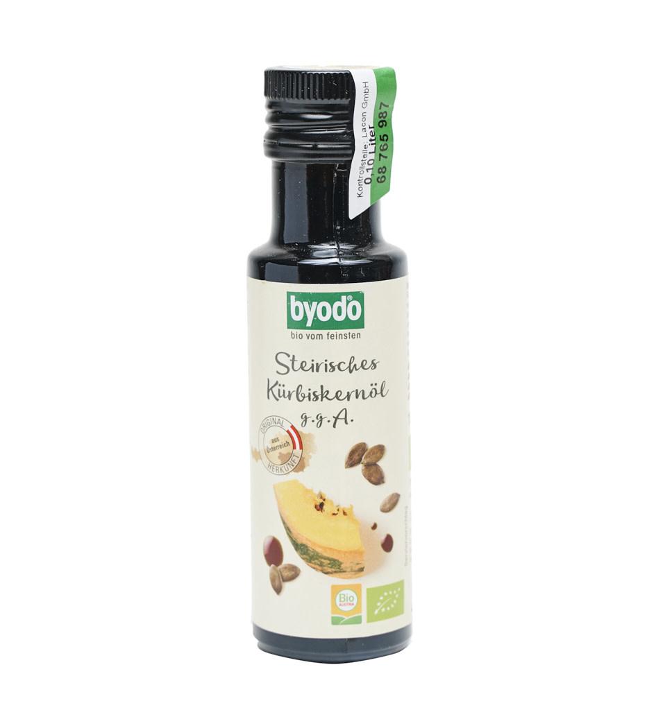 BIOVEGAN BYODO Bio Styrian Pumpkin Seed Oil