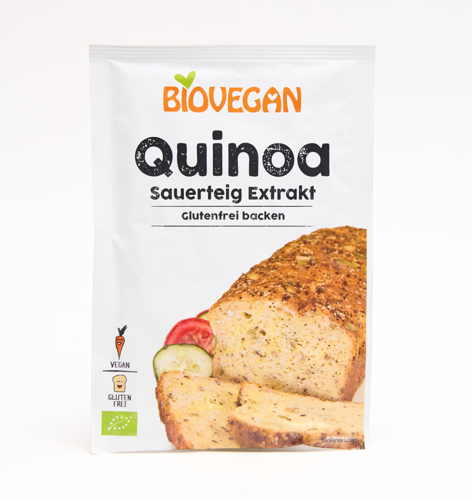 BIOVEGAN BIOVEGAN Quinnoa Sour Dough extrat