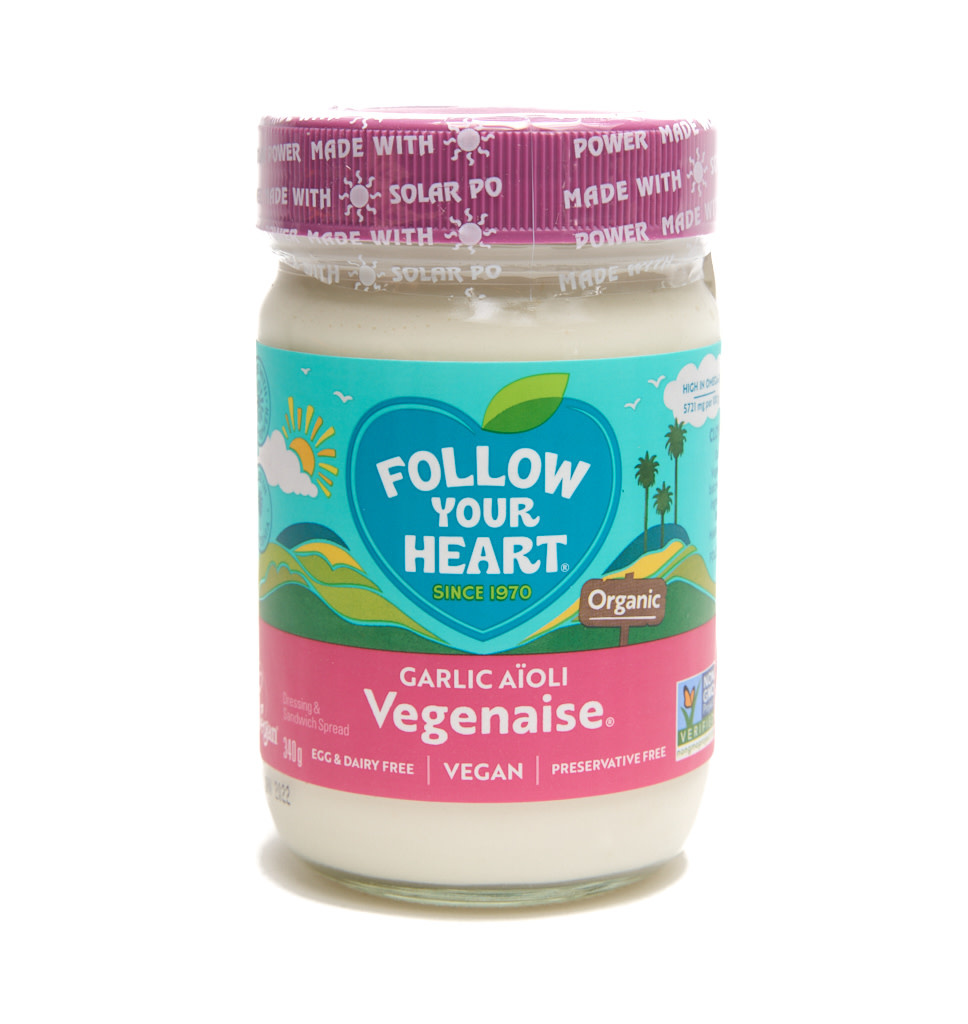 FOLLOW YOUR HEART FOLLOW YOUR HEART Vegan Garlic Aïoli