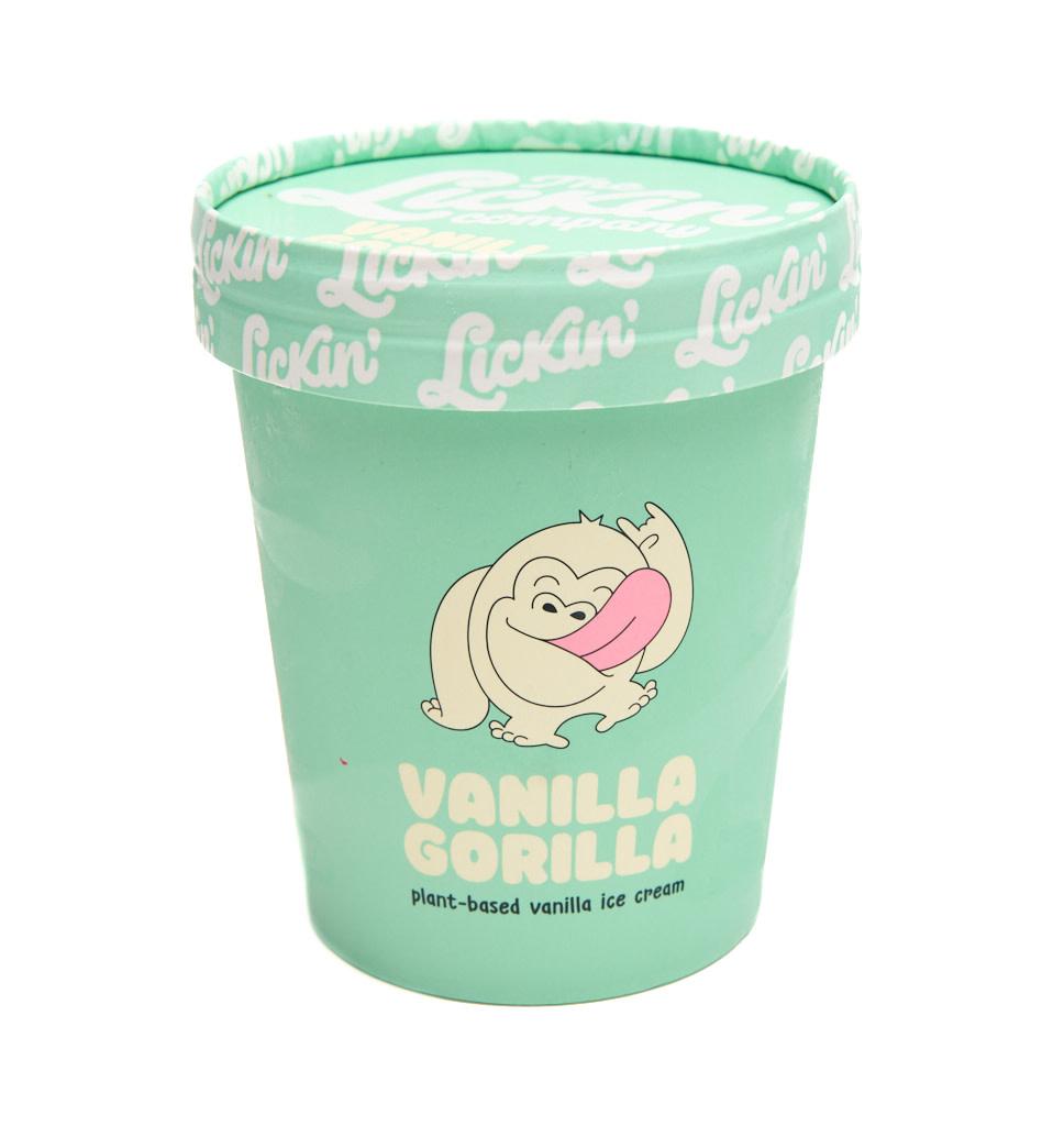 THE LICKIN' COMPANY THE LICKIN' COMPANY - Vegan Vanilla Gorilla Ice Cream