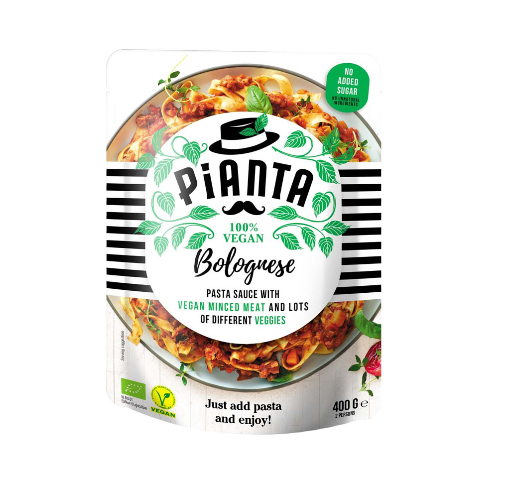 PIANTA PIANTA Bio & Vegan Pasta Bolognese
