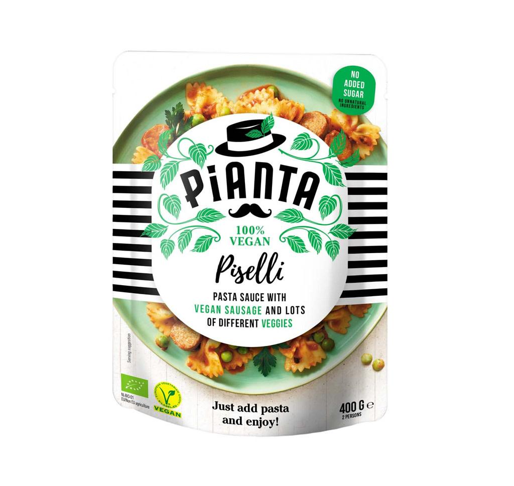 PIANTA PIANTA Bio & Vegan Pasta Piselli