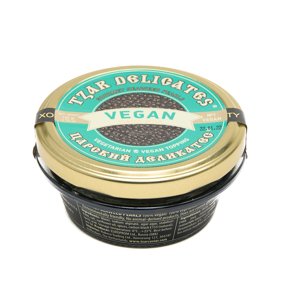 TZAR DELIGATES TZAR DELIGATES Vegan Seaweed Pearls