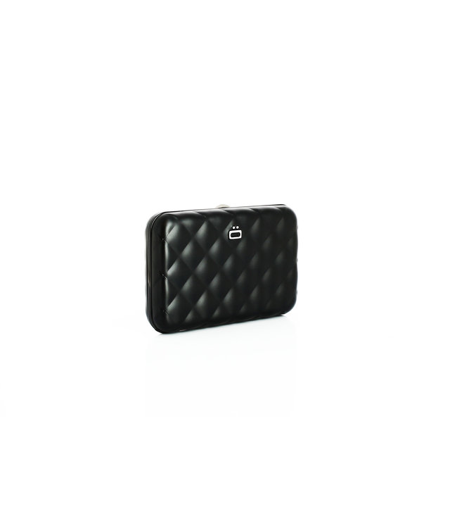 Ögon quilted button card case