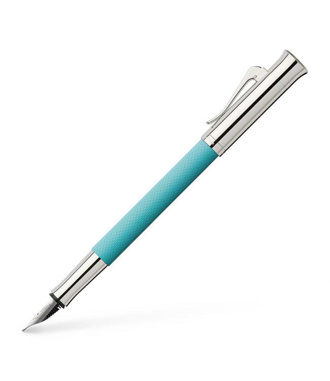 Graf von Faber Castell Guilloche Turquoise FP