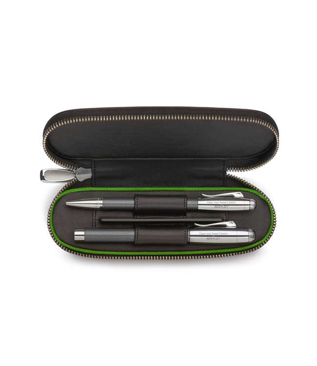 Graf von Faber Castell Bentley pen case (2pens)
