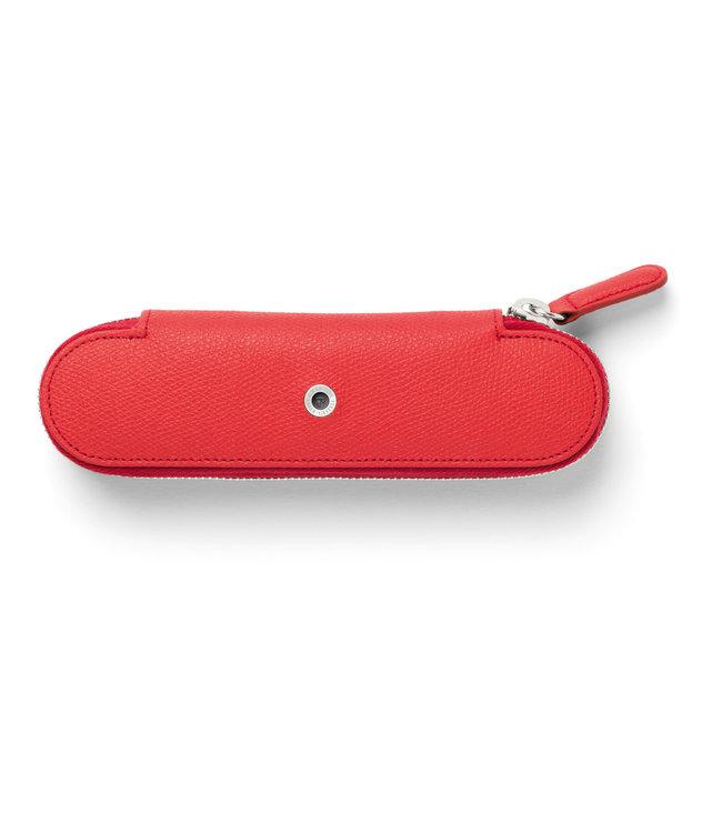 Graf von Faber Castell Graf von Faber-Castell pen etui 2-vaks India red