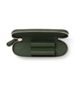 Graf von Faber Castell pen etui 2-vaks Olive Green