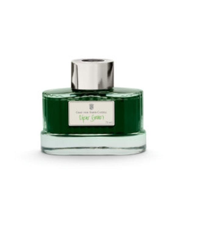 Graf von Faber Castell Ink Bottle (75 ml)  - Shades of Green
