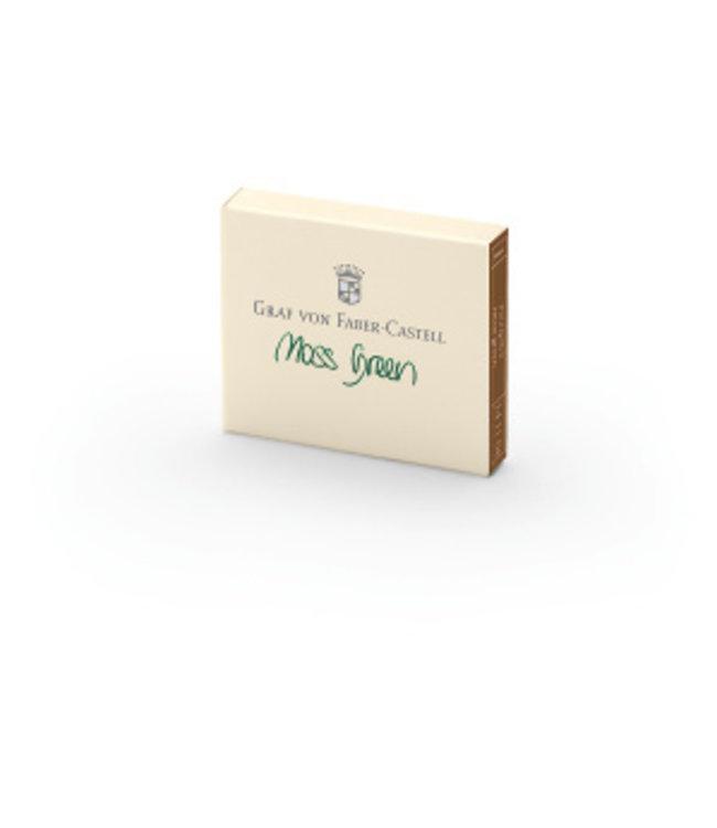 Graf von Faber Castell Ink Cartridges (6pcs) -  Shades of Green