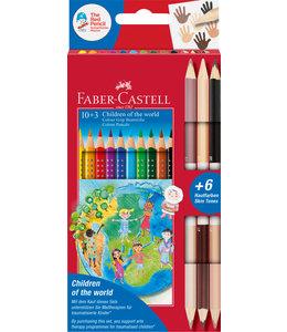 Faber-Castell kleurpotloden (10+3)