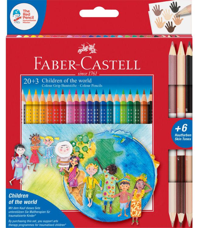 Faber-Castell Kleurpotloden 20+3