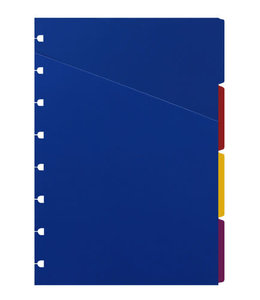 Filofax A5 Notebook refill bright indices