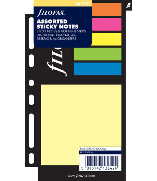 Filofax Sticky notes large