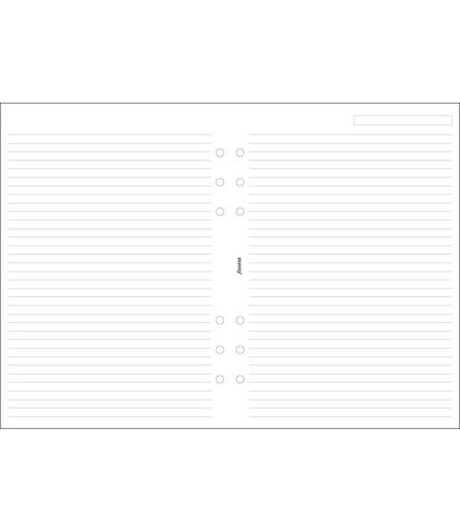 Filofax Filofax A5 wit gelijnd notepaper
