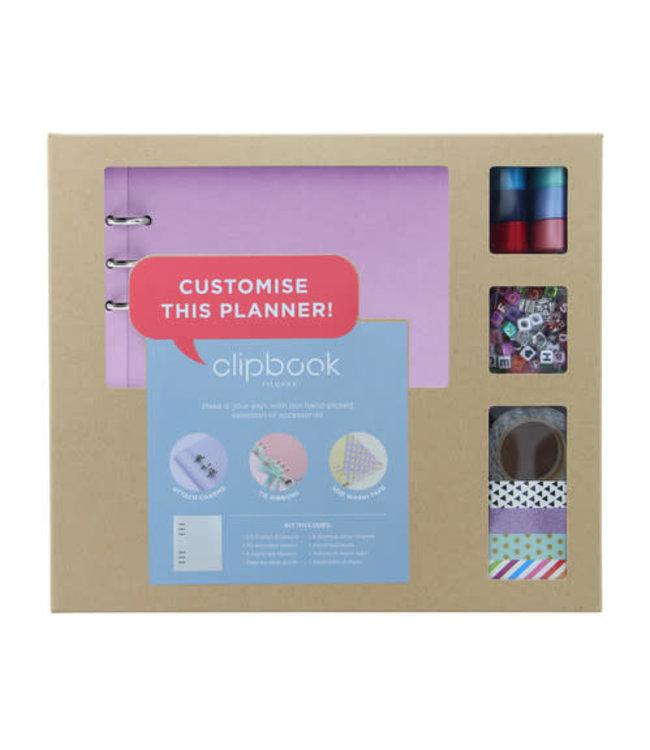 Filofax Filofax Clipbook A5 creative kit Orchid
