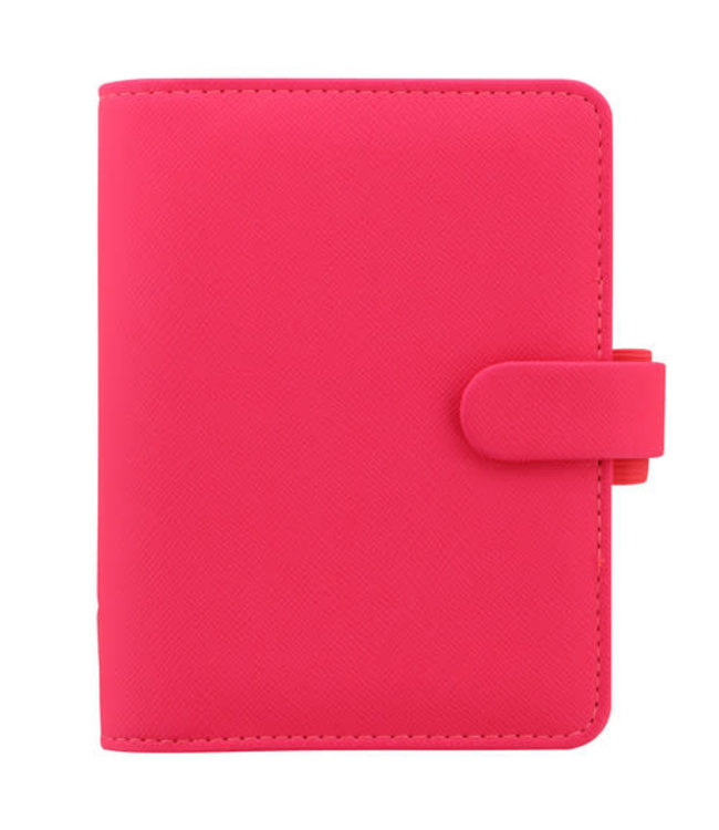 Filofax Filofax Pocket Organiser Saffiano FLUO