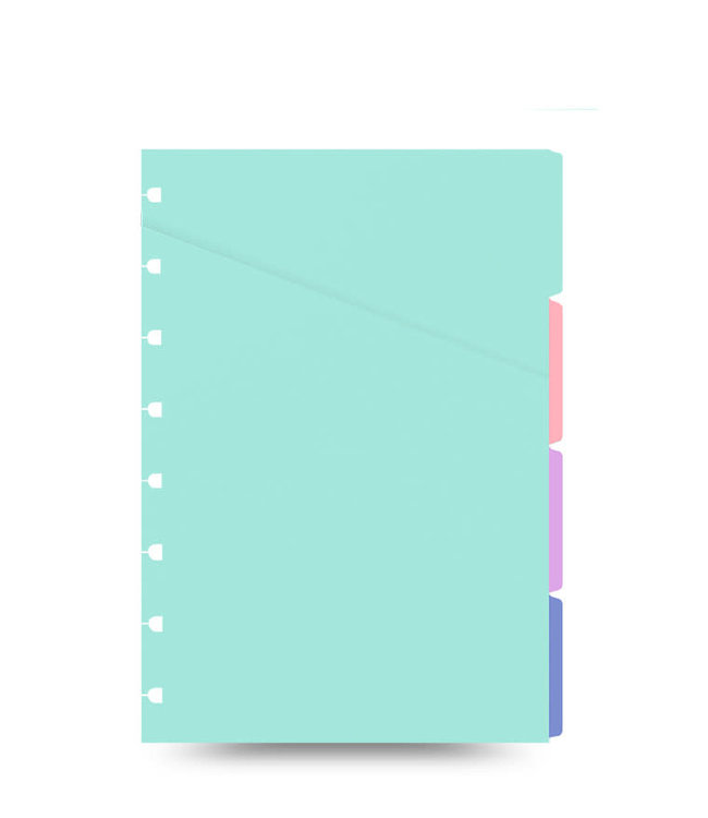 Filofax Filofax Pocket Notebook Refill pastel Indices