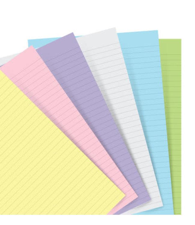 Filofax Filofax Pocket Notebook refill Pastel Paper