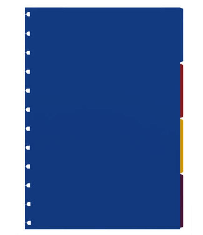Filofax Filofax A4 Notebook refill Bright indices