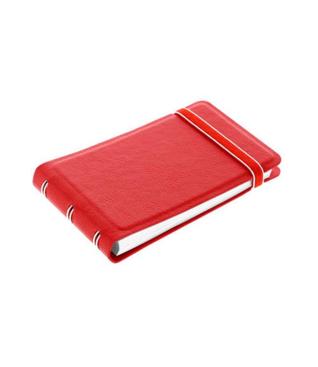 Filofax FILOFAX NOTEBOOK SMART CLASSIC RED