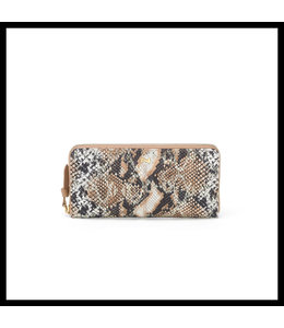 Nathan-Baume Zip wallet Lezard tan