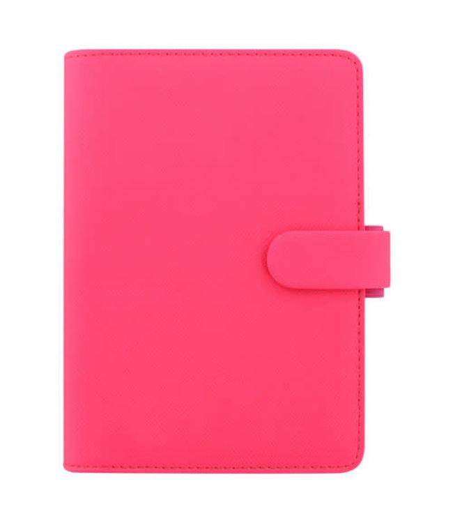 Filofax FILOFAX ORG PERSONAL SAFFIANO FLURO PINK Fluo Pink Personal