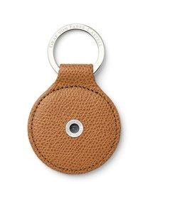 Graf von Faber Castell Key Fob round  cognac