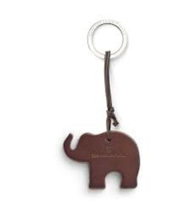 Graf von Faber Castell GVFC 118724 sleutelhanger Elephant bruin