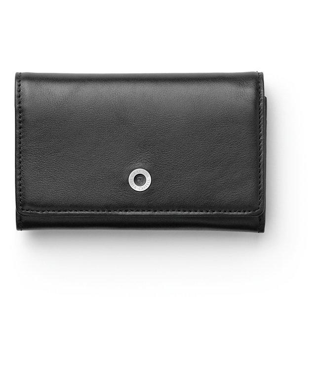 Graf von Faber Castell GVFC Business card holder Smooth leather Black