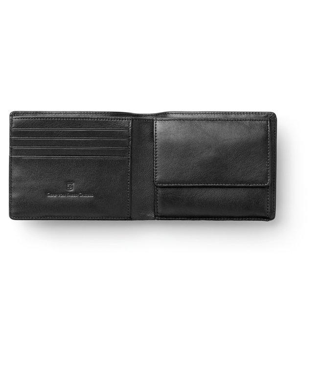 Graf von Faber Castell GVFC Portefeuille (4CC) in smooth leather Black