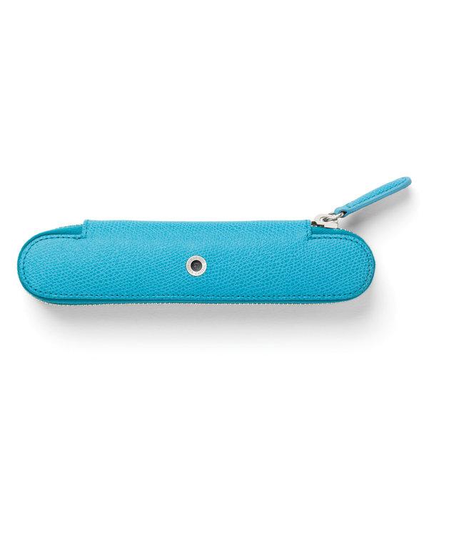 Graf von Faber Castell One-Pen case Gulf Blue