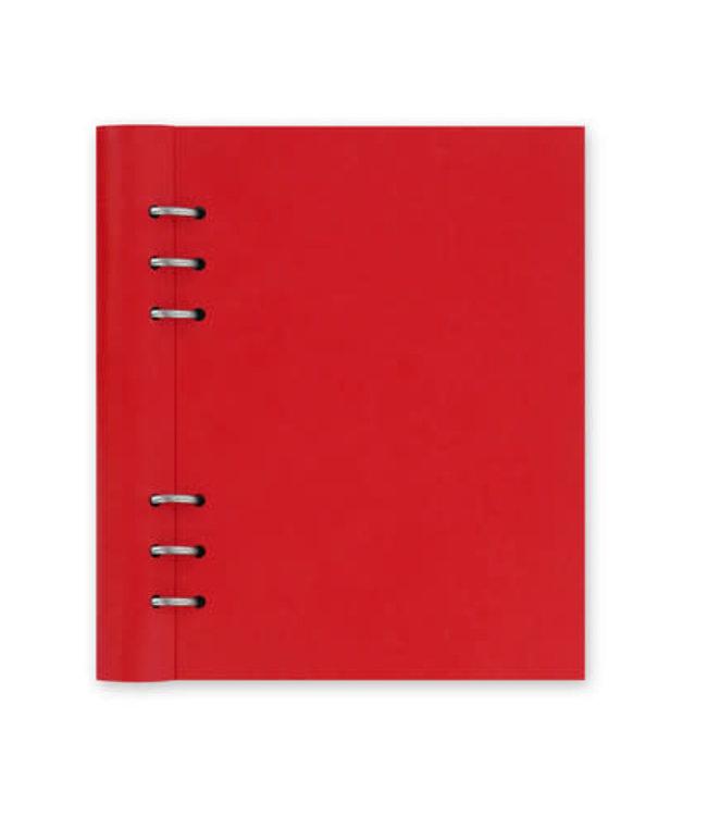 Filofax Filofax A5 Classic Clipbook Poppy Red